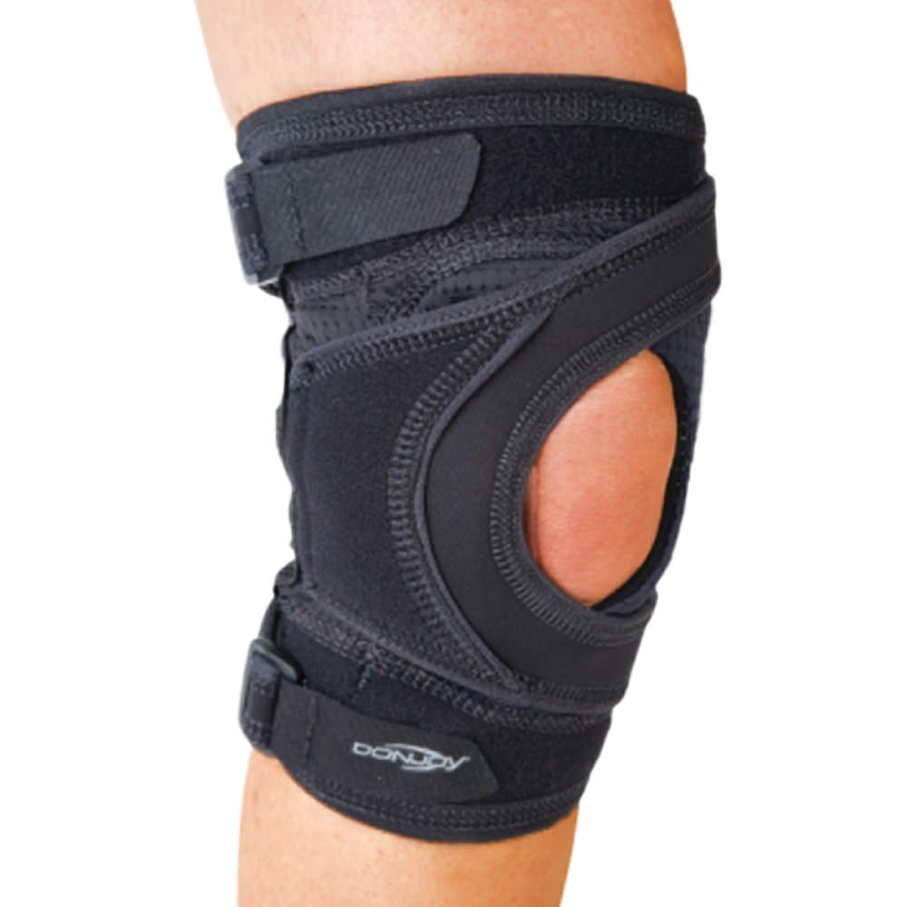 "Tru Pull Lite Knee Brace Right Xlarge 23 1/2"" 26 1/2"" - Black - Pcr104rtxlg - Health Care Body Part Knee And Leg Braces And Supports PCR104RTXLG"