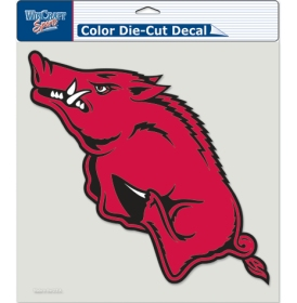 Collegiate Sports Ncaa College Arkansas Ark Razorbacks Decals - 3208580181 - Arkansas Razorbacks Decal 8x8 Die Cut Color 3208580181