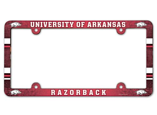 Baseball And Softball Bases Plates Poly Bases In 7 Colors - 3208595340 - Arkansas Razorbacks License Plate Frame-full Color 3208595340