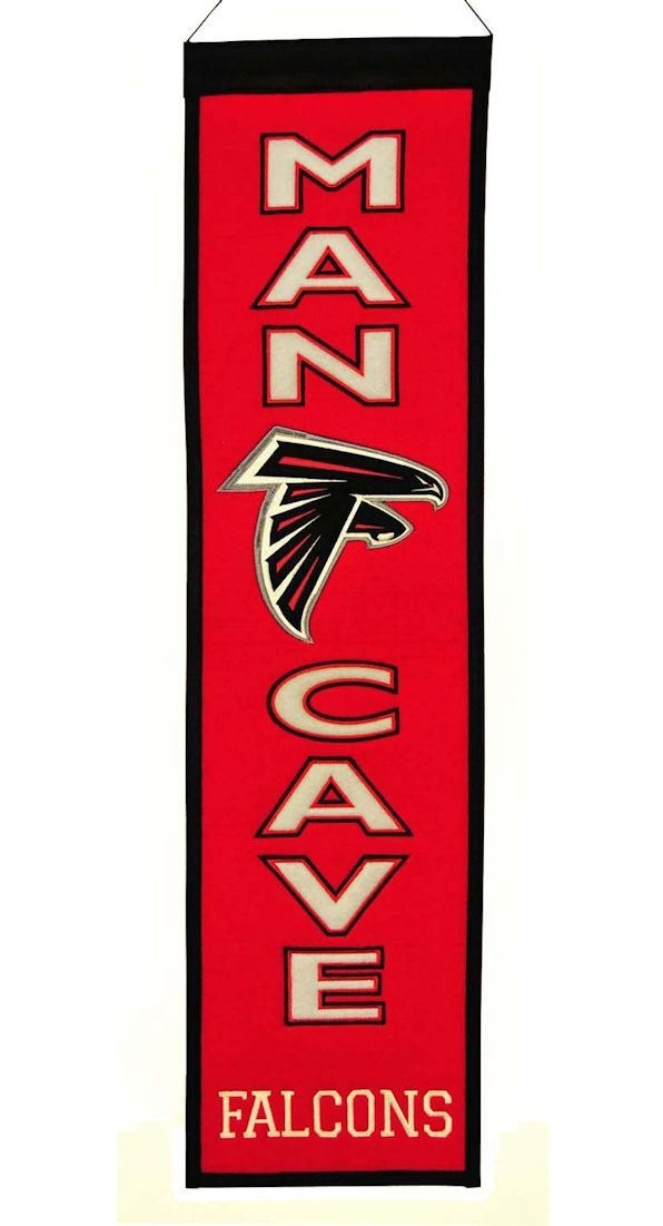 Football Nfl Football Atlanta Falcons Banners - 7408849172 - Atlanta Falcons Banner Wool Man Cave 7408849172