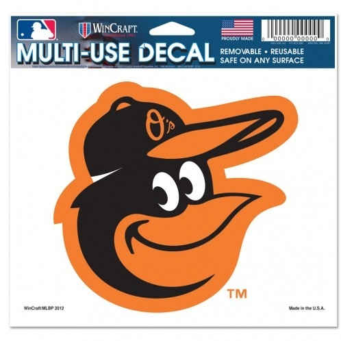 Baseball Mlb Baseball Baltimore  Decals - 3208514405 - Baltimore  Decal 5x6 Ultra Color 3208514405