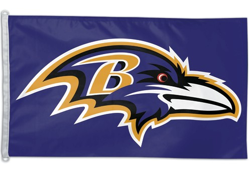 Facilities Management Classroom Promotional Religious Flags - 3208586330 - Baltimore Ravens Flag 3x5 3208586330