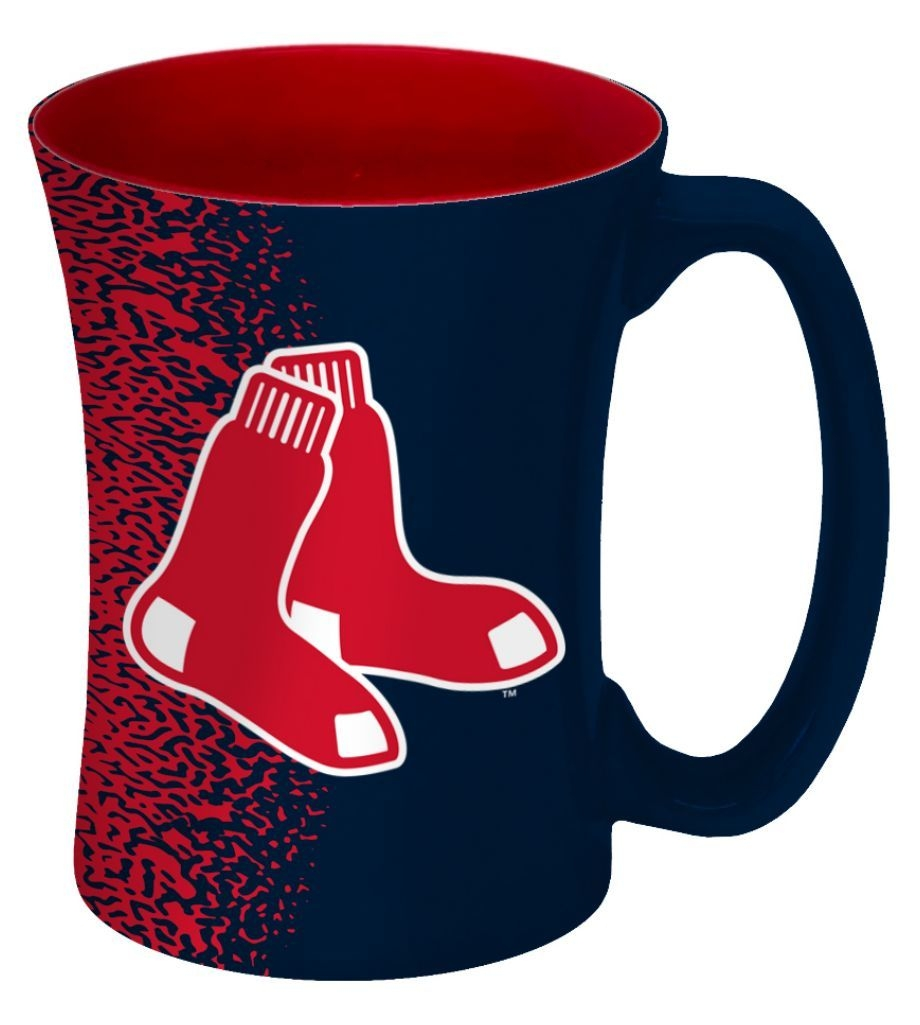 Baseball Mlb Baseball Boston Red Sox Coffee Mugs - 8886013603 - Boston Red Sox Coffee Mug-14 Oz Mocha 8886013603