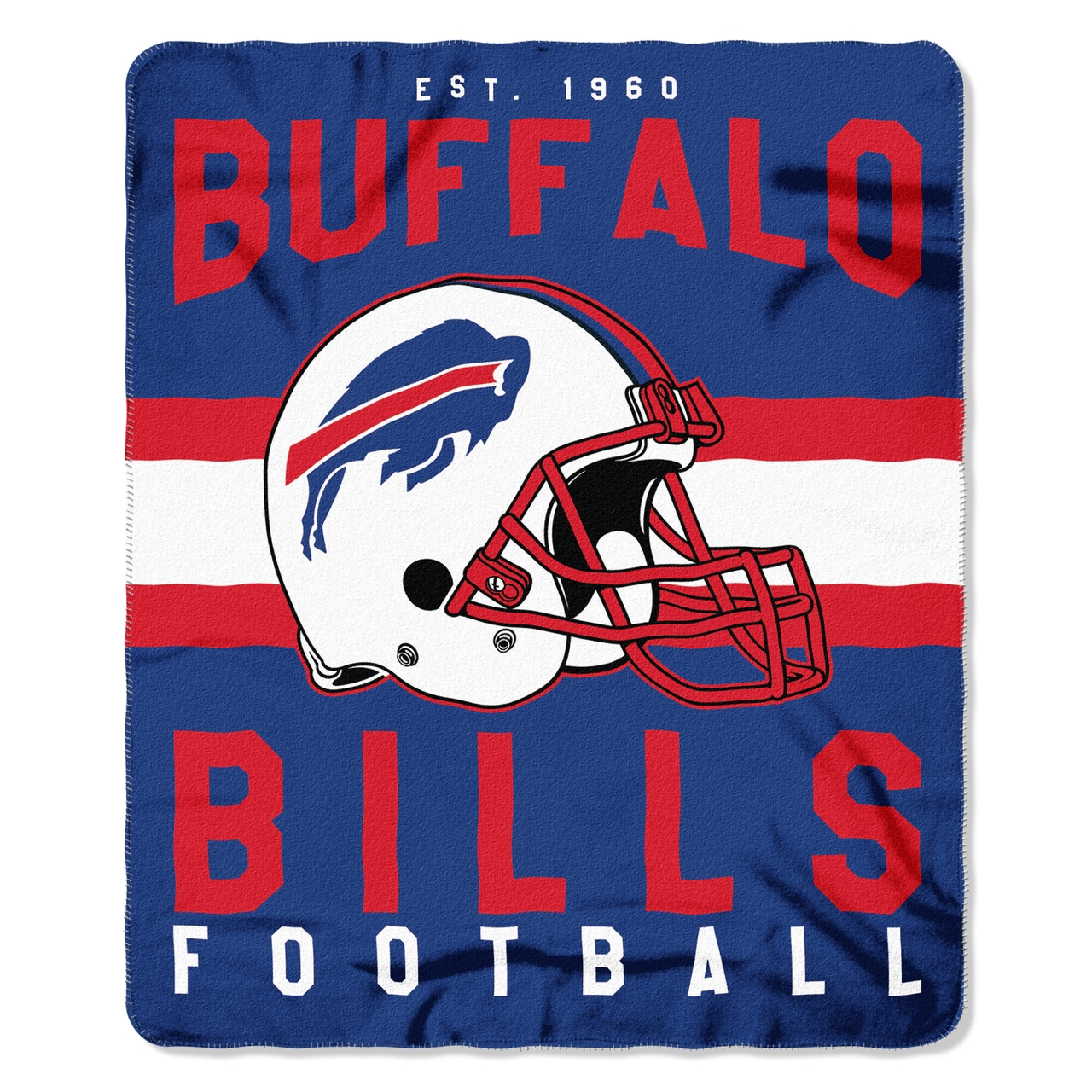 Gifts Fleece - 8791835001 - Buffalo Bills Blanket 50x60 Fleece Singular Design