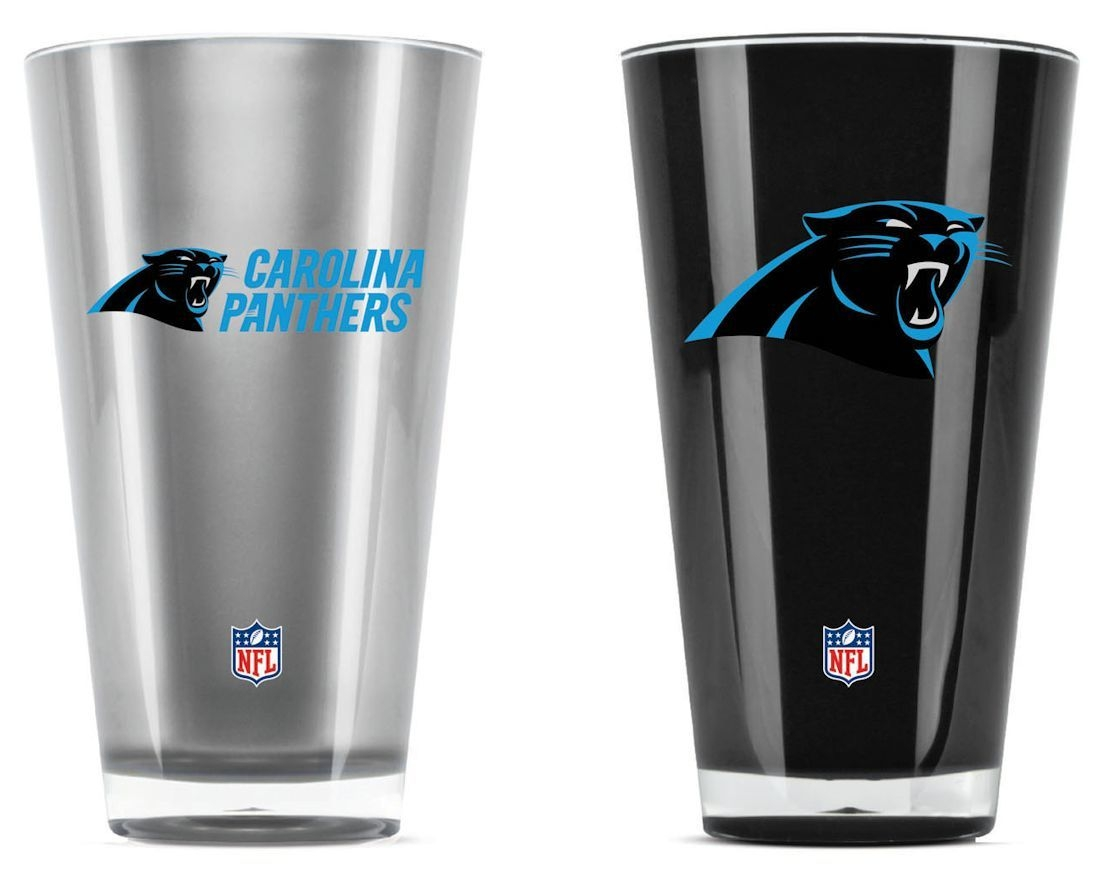 Football Nfl Football Carolina Panthers Tumblers And Pint Glasses - 9413101628 - Carolina Panthers Tumblers-set Of 2 (20 Oz) 9413101628