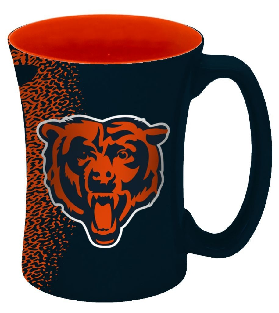Football Nfl Football Chicago Bears Coffee Mugs - 8886013550 - Chicago Bears Coffee Mug-14 Oz Mocha 8886013550