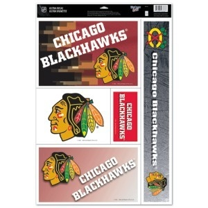 Hockey Nhl Hockey Chicago Blackhawks Decals - 3208588345 - Chicago Blackhawks Decal 11x17 Ultra 3208588345