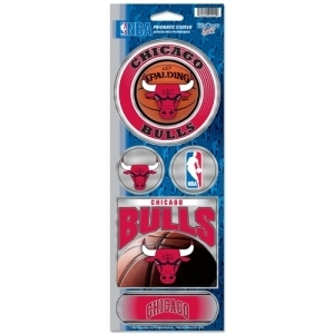 Basketball Nba Basketball Chicago Bulls Bumper Stickers - 3208591754 - Chicago Bulls Stickers Prismatic 3208591754