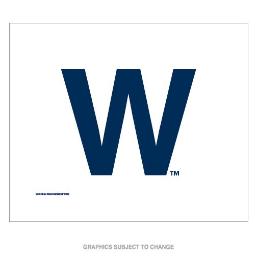 """Facilities Management Cleaning Solvents Sponges & Wipes Towels - 9960623020 - Chicago Cubs """"w"""" Rally Towel 9960623020"""