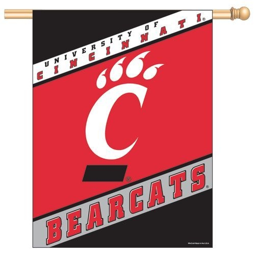 Collegiate Sports Ncaa College Cincinnati Cinc Bearcats Banners - 3208505232 - Cincinnati Bearcats Banner 27x37 3208505232