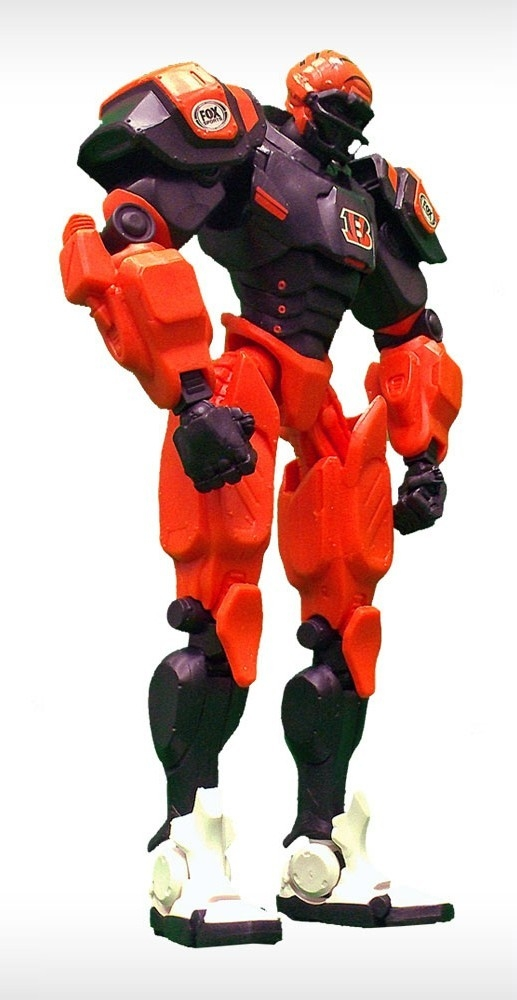 Cincinnati Bengals Fox Sports Robot - 1263301713 - Football Nfl Football Cincinnati Bengals Toys Games Robots Figurines 1263301713