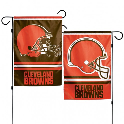 Facilities Management Classroom Promotional Religious Flags - 3208508365 - Cleveland Browns Garden Flag 12x18 3208508365