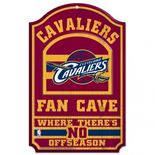 Basketball Nba Basketball Cleveland Cavaliers Pet Fan Gear - 3208538307 - Cleveland Cavaliers 11x17 Wood Sign-fan Cave 3208538307