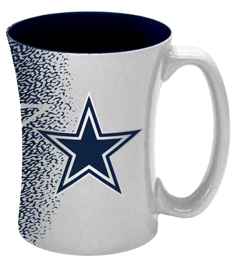 Football Nfl Football Dallas Cowboys Coffee Mugs - 8886013560 - Dallas Cowboys Coffee Mug-14 Oz Mocha 8886013560