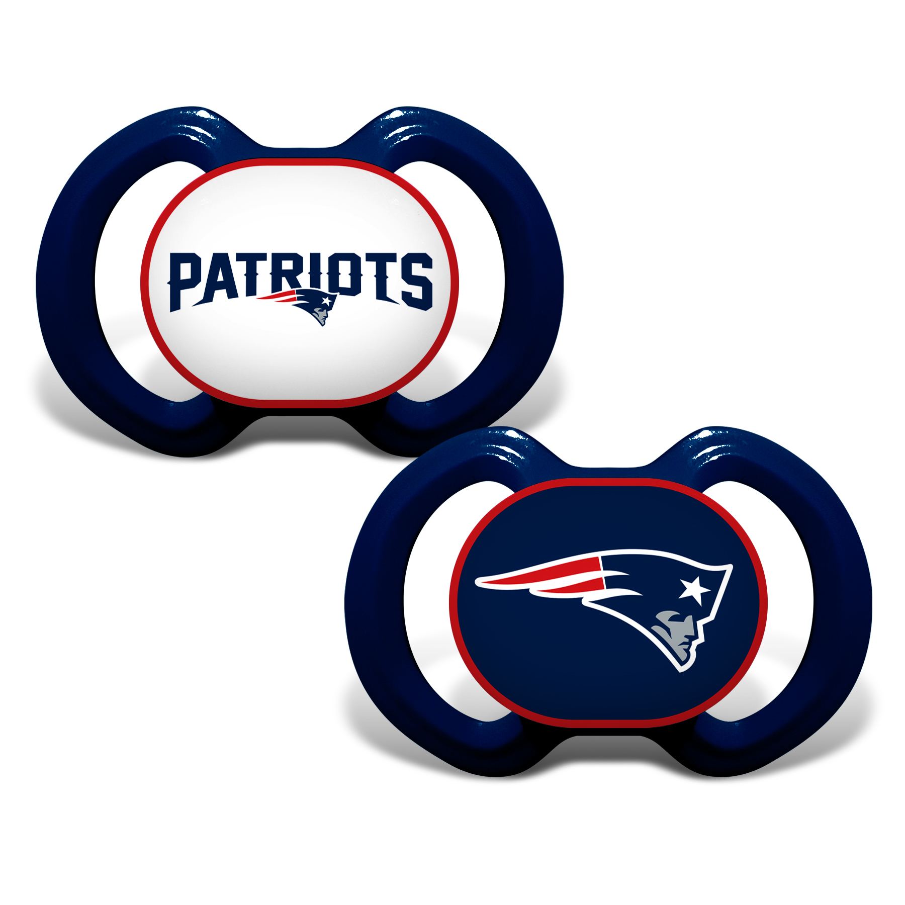Football Nfl Football New England Patriots Baby Fan Gear - 1740702232 - New England Patriots Pacifier-2 Pack 1740702232