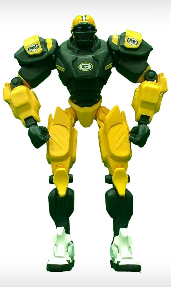 Football Nfl Football Green Bay Packers Robots Figurines - 1263301723 - Green Bay Packers Fox Sports Robot 1263301723