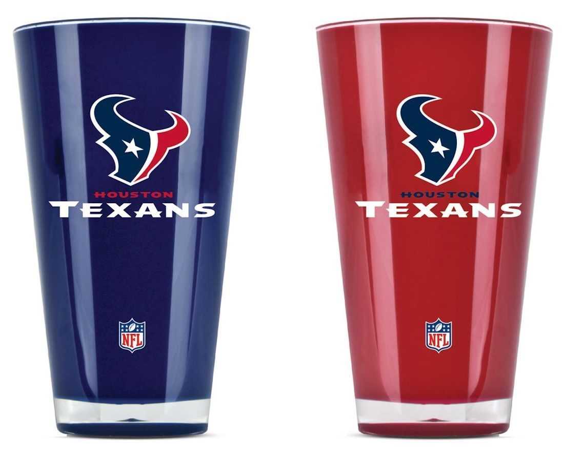 Football Nfl Football Houston Texans Tumblers And Pint Glasses - 9413101634 - Houston Texans Tumblers-set Of 2 (20 Oz) 9413101634