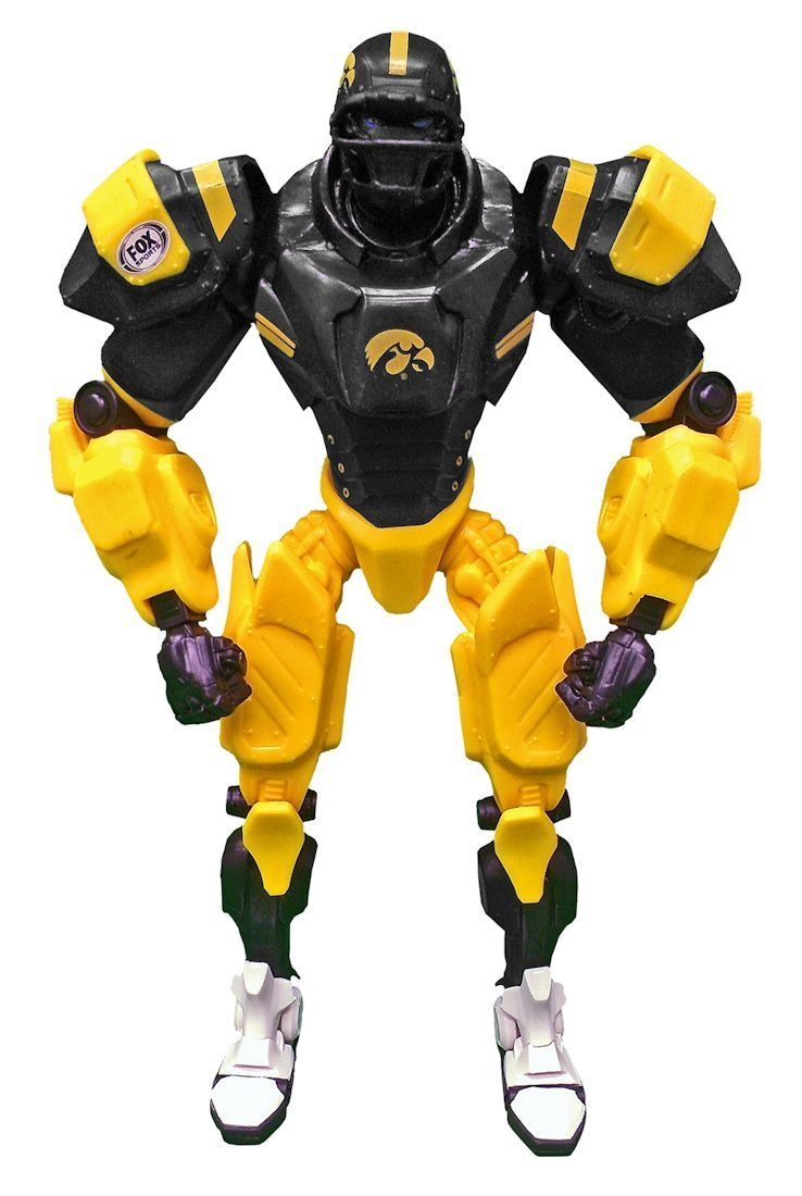 Iowa Hawkeyes Fox Sports Robot - 1263301935 - Collegiate Sports Ncaa College Iowa Iowa Hawkeyes Robots Figurines 1263301935