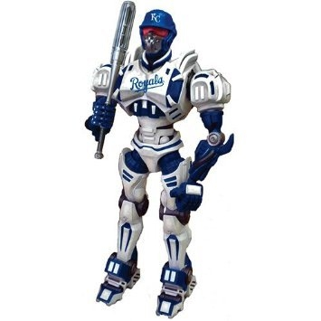 Baseball Mlb Baseball Kansas City S Robots Figurines - 1263301163 - Kansas City S Fox Sports Robot 1263301163