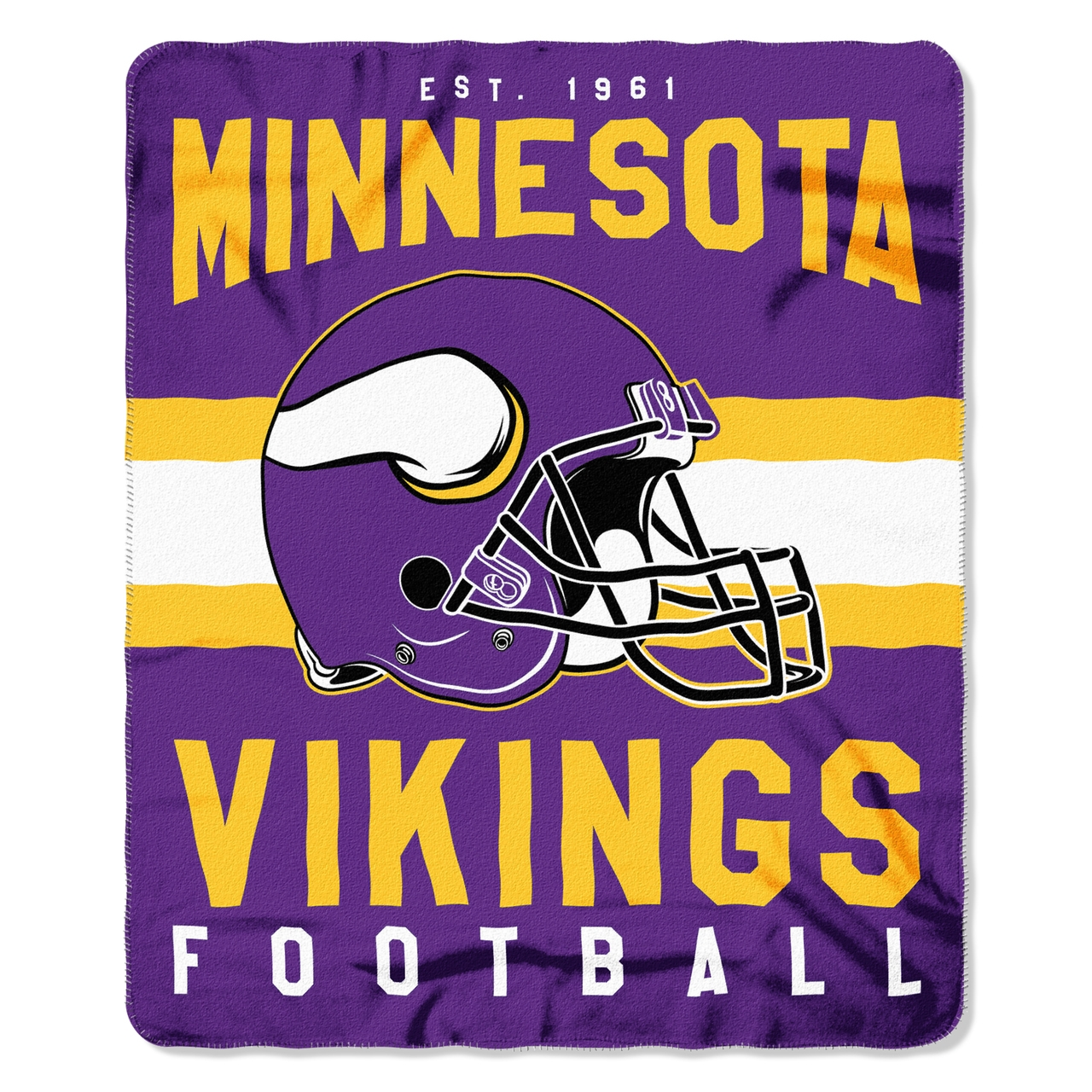 Gifts Fleece - 8791835021 - Minnesota Vikings Blanket 50x60 Fleece Singular Design