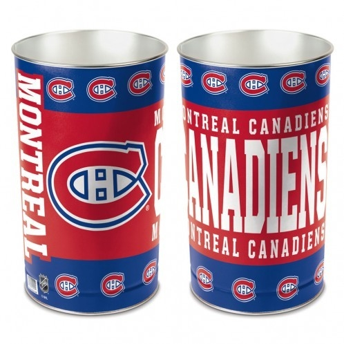 Games Disc Golf Disc Golf Baskets - 1094380100 - Montreal Canadiens Waste Basket-15 Inch 1094380100