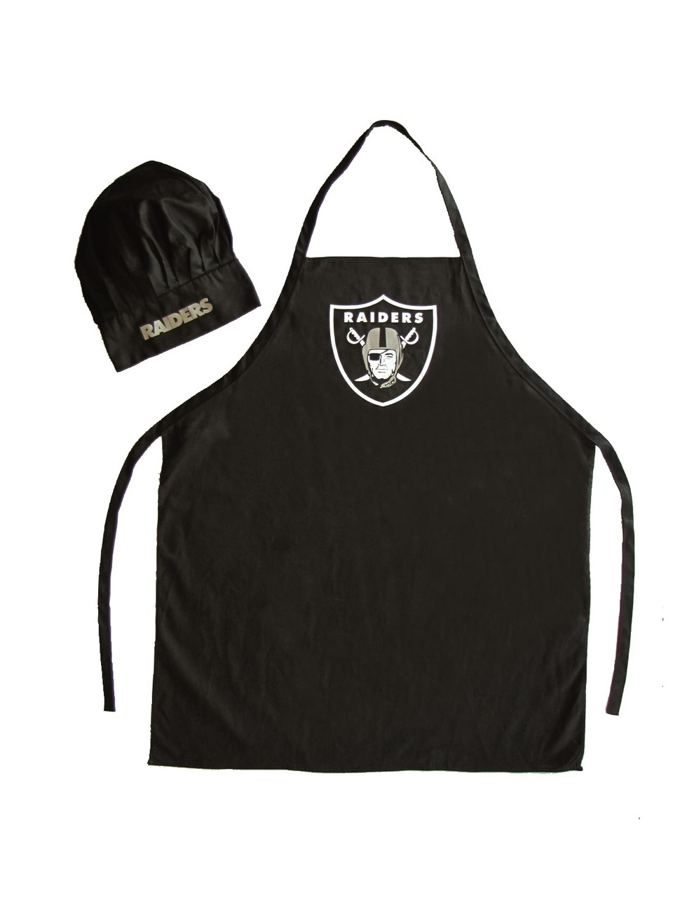 Football Nfl Football Oakland Raiders Aprons - 5717524081 - Oakland Raiders Apron And Chef Hat Set 5717524081