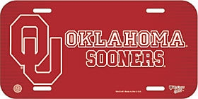 Collegiate Sports Ncaa College Oklahoma Ou Sooners License Plates Frames - 3208597813 - Oklahoma Sooners License Plate 3208597813