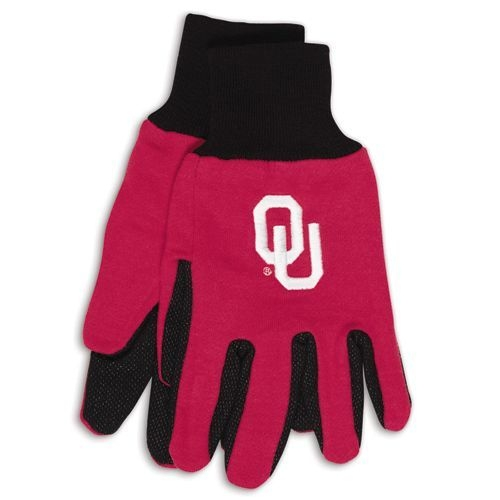 Soccer Soccer Coaching Board - 9960695970 - Oklahoma Sooners Two Tone Gloves-adult 9960695970