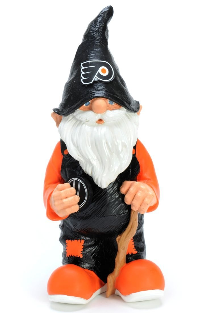 """Facilities Management Dollhouses Dollhouses Room Boxes Foyers Half Scale Garden Sheds - 8132985249 - Philadelphia Flyers Garden Gnome-11"""" Male 8132985249"""