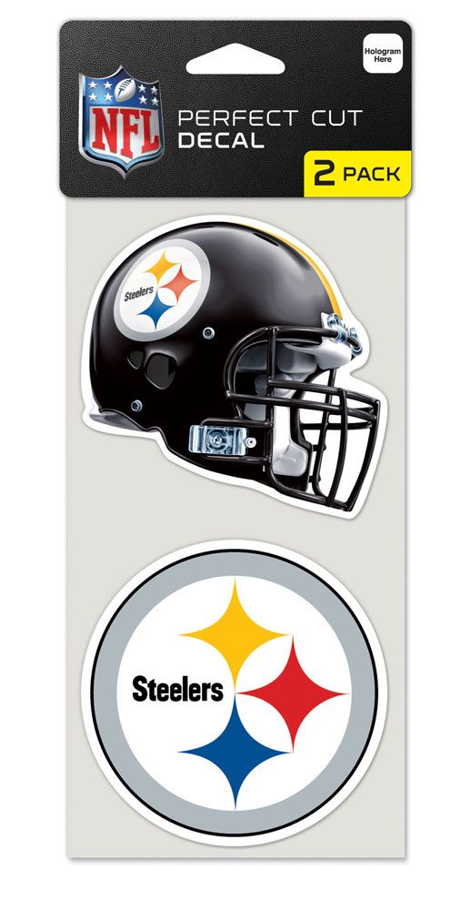 Baseball & Softball Mlb Baseball & Softball Pittsburgh Pirates Decals - 3208547581 - Pittsburgh Steelers Set Of 2 Die Cut Decals 3208547581
