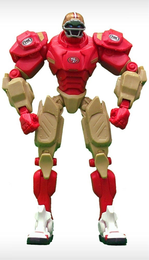 Football Nfl Football San Francisco 49ers Robots Figurines - 1263301753 - San Francisco 49ers Fox Sports Robot 1263301753
