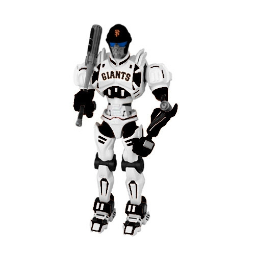 Baseball & Softball Mlb Baseball & Softball San Francisco  Toys Games Robots Figurines - 1263301173 - San Francisco  Fox Sports Robot 1263301173