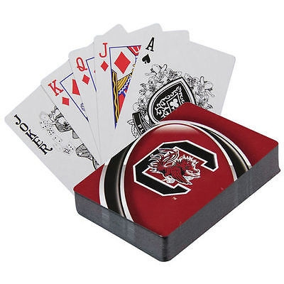 Collegiate Sports Ncaa College South Carolina Usce Gamecocks Toys Games Puzzles Games - 1629877743 - South Carolina Gamecocks Playing Cards 1629877743