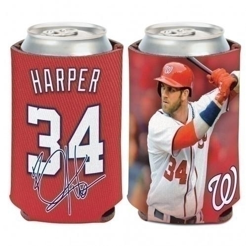 Facilities Management Water Coolers And Hydration Water Beverage Coolers - 3208515118 - Washington Nationals Bryce Harper Can Cooler 3208515118