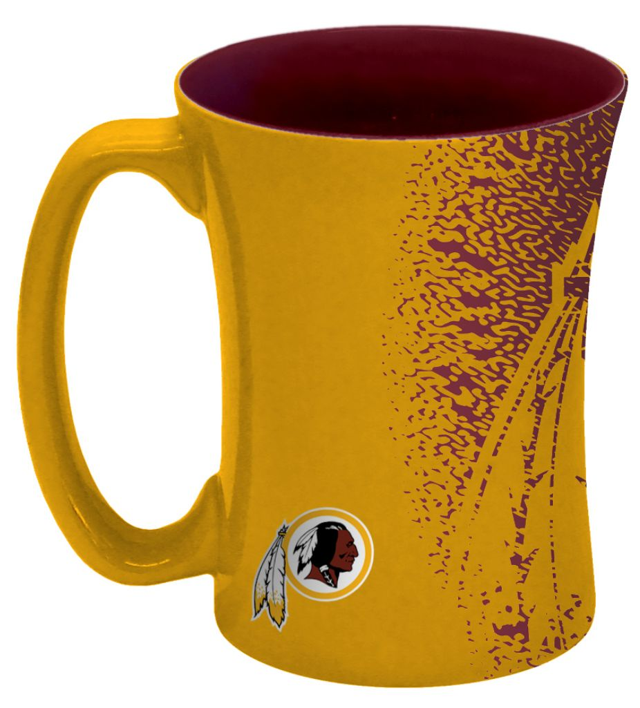 Football Nfl Football Washington Redskins Coffee Mugs - 8886013574 - Washington Redskins Coffee Mug-14 Oz Mocha 8886013574