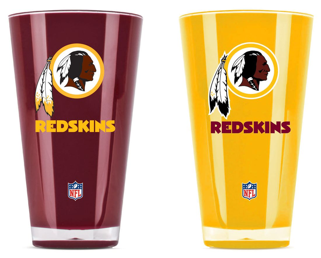 Football Nfl Football Washington Redskins Tumblers And Pint Glasses - 9413101649 - Washington Redskins Tumblers-set Of 2 (20 Oz) 9413101649