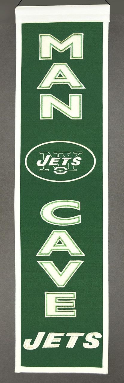Football Nfl Football New York Jets Banners - 7408849174 - New York Jets Banner Wool Man Cave 7408849174