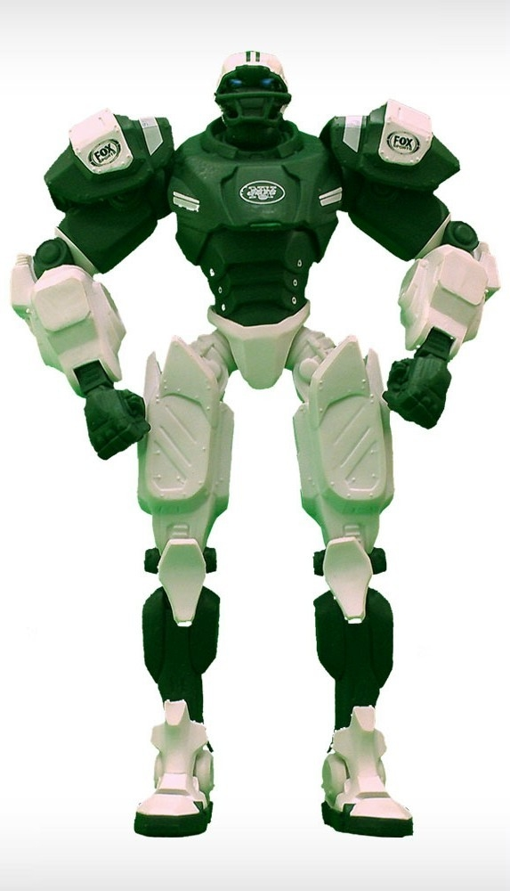 Football Nfl Football New York Jets Robots Figurines - 1263301743 - New York Jets Fox Sports Robot 1263301743