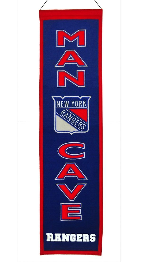 Hockey Nhl Hockey New York Rangers Banners - 7408849254 - New York Rangers Banner Wool Man Cave 7408849254