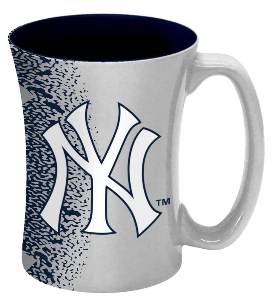 Baseball & Softball Mlb Baseball & Softball New York  Coffee Mugs - 8886013610 - New York  Coffee Mug-14 Oz Mocha 8886013610
