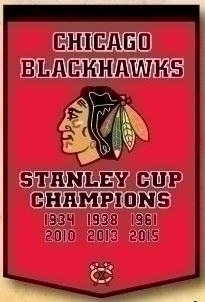 Chicago Blackhawks Banner - 78010 - Hockey Nhl Hockey Chicago Blackhawks Banners 78010