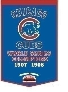 Chicago Cubs Banner - 76145 - Baseball Mlb Baseball Chicago Cubs Banners 76145
