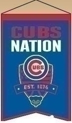 Chicago Cubs Nations Banner - 30504 - Baseball Mlb Baseball Chicago Cubs Banners 30504