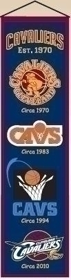 Cleveland Cavaliers Heritage Banner - 48006 - Baseball & Softball Mlb Baseball & Softball Cleveland Indians Banners 48006