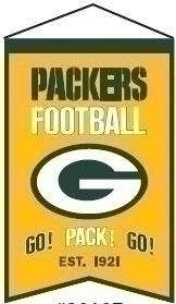 Green Bay Packers Franchise Banner - 30107 - Football Nfl Football Green Bay Packers Banners 30107