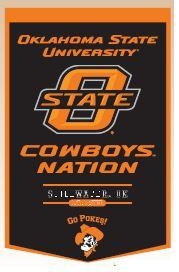 Oklahoma State Powerhouse - 79023 - Collegiate Sports Ncaa College Oklahoma State Osu Cowboys Banners 79023