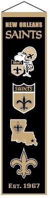 New Orleans Saints Heritage Banner - 44045 - Football Nfl Football New Orleans Saints Banners 44045