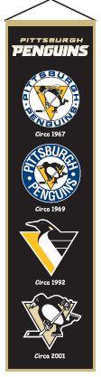 Pittsburgh Penguins Heritage Banner - 47008 - Hockey Nhl Hockey Pittsburgh Penguins Banners 47008