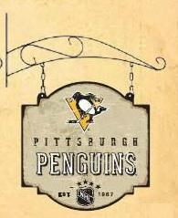 Pittsburgh Penguins Tavern Sign - 11307 - Hockey Nhl Hockey Pittsburgh Penguins Signs 11307