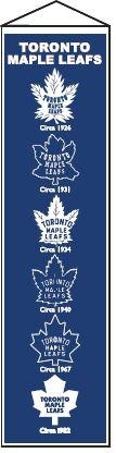 Toronto Maple Leafs Heritage Banner - 47002 - Hockey Nhl Hockey Toronto Maple Leafs Banners 47002